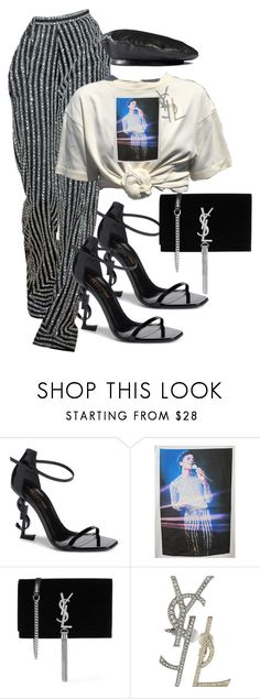 """I want to Rock with you!"" by markia322 ❤ liked on Polyvore featuring Yves Saint Laurent and Gucci"