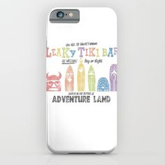 Adventureland iPhone & iPod Case by Designers United Against Hate | Society6