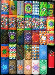 MINI Bic Perler Bead LIGHTER CASE by LighterCases on Etsy, $8.00 ©