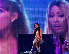 thank u, next — Dangerous Woman Tour in Buffalo, NY Ariana Grande Selena Gomez, Ariana Grande Fotos, Ariana Grande Pictures, Ariana Grande Dangerous Woman Tour, Light Of My Life, Thank U, Female Singers, Nicki Minaj, My Idol