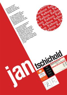 """Jan Tschichold """"New Typography"""". His design is clean. IN summer 1933 Nazis arrested him and his wife accused him to steering the new art movement. He fled to Switzerland and become book designer. Graphisches Design, Swiss Design, Layout Design, Typography Layout, Typography Poster, Graphic Design Typography, Poster Fonts, Bauhaus, Book Cover Design"""