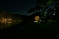 Ranch landscape lighting