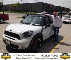 https://flic.kr/p/GaQiTv | Happy Anniversary to Kevin  on your #MINI #Cooper Countryman from Mandy Frazier at Auto Web Expo Inc! | deliverymaxx.com/DealerReviews.aspx?DealerCode=J789