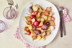 Recipe: Brown Butter Radishes — Quick and Easy Weeknight Sides
