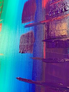 Colorful Abstract Art, Acrylic Colors, Acrylic Pouring, Surface, Neon Signs, Painting, Painting Art, Paintings, Painted Canvas