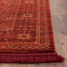 Amelia Area Rug - Safavieh, Red/Red