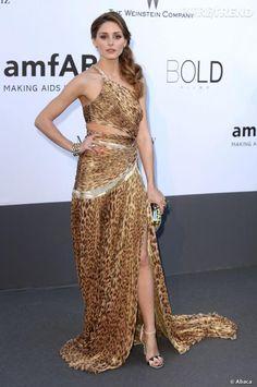 Le top robe léopard :  On ne s'y attendait pas, mais Olivia Palermo rend ses lettres de noblesse à l'imprimé léopard !
