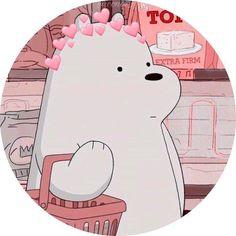 We bara bear We Bare Bears Wallpapers, Panda Wallpapers, Cute Cartoon Wallpapers, Cartoon Profile Pics, Cartoon Profile Pictures, Cartoon Pics, Ice Bear We Bare Bears, We Bear, Bear Wallpaper