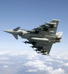 RAF Eurofighter Typhoon armed with Paveway laser guided bombs [16001745]