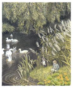 surface fragments: Children's Illustration Artist Profile: Inga Moore