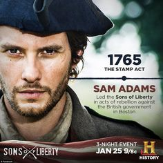 sons of liberty history channel - Google Search