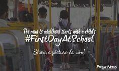 #FirstDayAtSchool #Contest