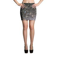 Star Cluster Mini Skirt