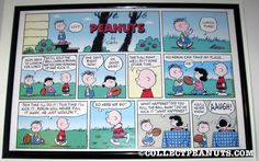 The very last Lucy football strip - a perfect way to end the joke