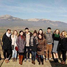 #ispyapi #bilbao students on excursion in Laguardia Spain #studyabroad