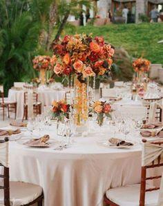 Outdoor Wedding Centerpieces Ideas