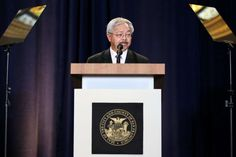 Mayor Ed Lee reaffirmed his commitment to the health and welfare of the city's immigrants in his State of the City speech. Photo: Amy Osborne, Special To The Chronicle