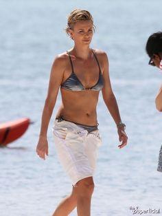 Charlize Theron Bikini Photos: