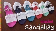 ¡A reciclar las plantillas de las flip flop o sayonaras! Hicimos 7 tallas de sandalias usando las plantillas... ¡hay para todas! Usamos el mismo crochet de 1...