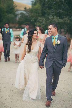 blush-and-gold-utah-wedding-039 | Ruffled
