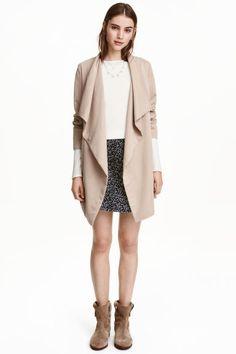 Пальто с драпировкой | H&M