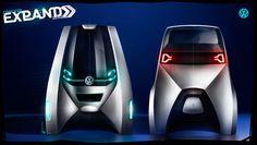 Volkswagen Expand, futuristic car, Luiz Antonelli, future vehicle