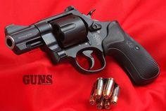 Round Gun In A Square Gun World: There's Still A Place For Revolvers here In The Age Of The Autopistol | Smith & Wesson M325 Night Guard .45 ACP | http://gunsmagazine.com/go/guns-se-2016/ | #smithandwesson #revolver #m325 #nightguard