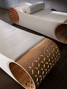 Day bed with fire retardant padding STAR_LIT by STARPOOL | #design Baldessari e Baldessari