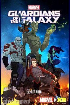 Стражи галактики 1-2 сезон (2015-2017)
