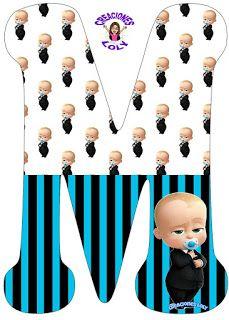 Creaciones Loly: Abecedario Alfabeto Completo Español Jefe en Pañales Boss Birthday, Boy Birthday Parties, Rarity Costume, Boss Baby, Printable Letters, Winter Nail Designs, Fancy Pants, First Birthdays, Baby Shower
