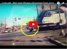 Así salvaron a una anciana de ser atropellada por un tren  http://www.facebook.com/pages/p/584631925064466