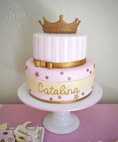Ideas para Baby Shower Princesas. Party Ideas Baby Shower. Princess Theme. Cake Princess