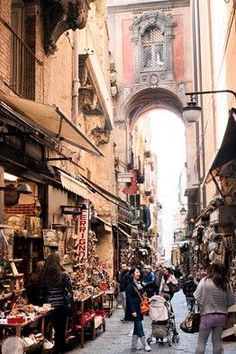 Italy Travel Inspiration - Naples. Inspired to visit from watching Gino's cooking programme tonight