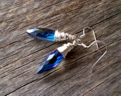 Free Giveaway: London Blue Glass Wire Wrapped Earrings   Enter Here: http://www.giveawaytab.com/mob.php?pageid=339401129407876