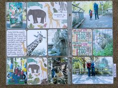Pages by Autumn Nguyen featuring the Zoo Themed Cards