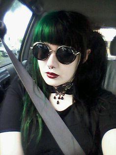 Feeling like willy wonka in these glasses ~~~~Kaylix Zeiten yuss