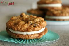 Lick The Bowl Good: Baby Shower: Oatmeal Cream Pies