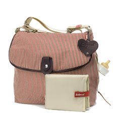 Babymel Satchel Red Stripe