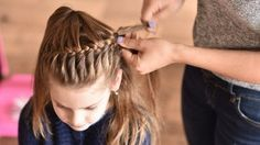 95 Best Braided Hairstyles for Girls, Black Kids Hairstyles, How to Create A Zipper Braid Updo Hairstyles, Pin by Tasha Westbrook On Braids & Twists, top 20 Best Hairstyles for Black Girls In 2019 ▷ Legit. Braided Hairstyles Updo, Short Curly Hair, Short Hair Styles, Picture Day Hair, Cool Hairstyles For Girls, Teenage Hairstyles, Hairstyles Videos, Trendy Hairstyles, Edgy Hair