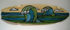 The Surf Art of Heather Brown: April 2011