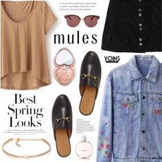 Yoins - Slim 'Em On: Mules