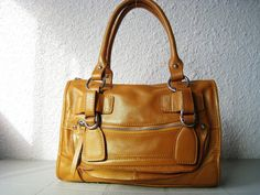 Leather bag clip on laptop messenger satchel purse by Adeleshop, $160.00