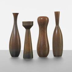 Carl-Harry Stalhane Collection of four vases : Lot 197