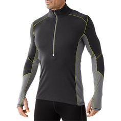 Combining warm, moisture-regulating merino wool with polyester, the Smartwool PhD Light Zip T top offers comfortable stretch recovery with faster drying and more breathability than wool alone. Wet T Shirt, T Shirt Diy, Matching Shirts, Sweater Design, Party Shirts, Winter Accessories, Outdoor Outfit, Ladies Party, Personal Style