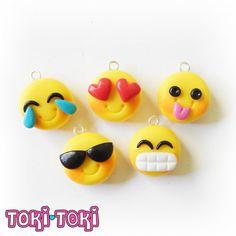 Fun Emoji Bracelet Emoticon Charms Smiley by MadeByTokiToki