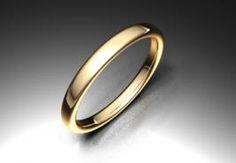 Alianza de oro rojo 18K modelo Ovalada  #bodas #alianzas #novia | cnavarro.com