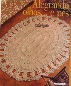 Crochet Knitting Handicraft: Rugs