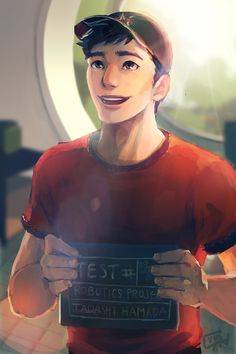 BH6 Tadashi --Could animation studios stop making attractive guys? It's getting to be a major problem in my life
