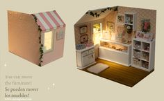 Nerea Pozo Art: ♥ Diorama CASA CUPCAKE ♥