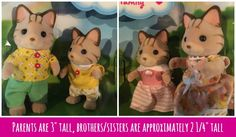 The Enduring Appeal of the Calico Critters Sandy Cat Family #toys #kids